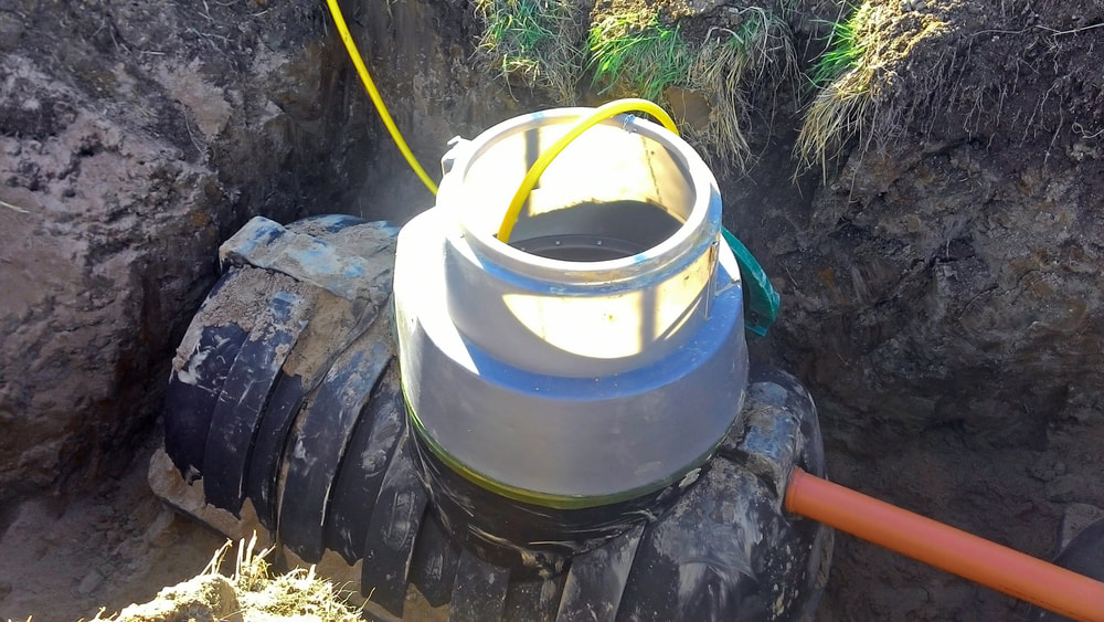 Septic tank install Houston TX